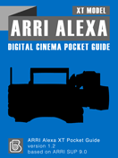 ARRI Alexa XT Pocket Guide Cover