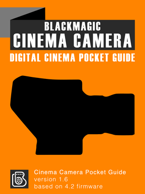 Blackmagic Design Cinema Camera Pocket Guide Cover
