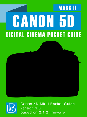 Canon 5D Mark II Pocket Guide Cover
