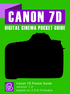 Canon 7D Pocket Guide Cover