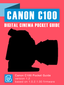Canon C100 Pocket Guide Cover