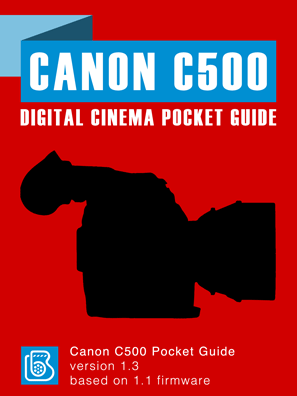 Canon C500 Pocket Guide Cover