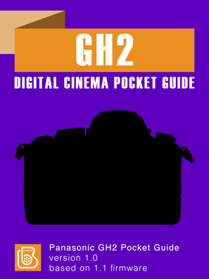 Panasonic GH2 Pocket Guide Cover