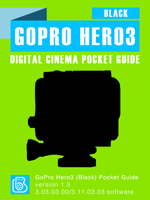 GoPro Hero3 Black Pocket Guide Cover