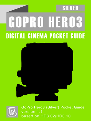 GoPro Hero3 Silver Pocket Guide Cover
