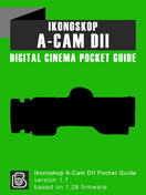Ikonoskop A-Cam dII Pocket Guide Cover