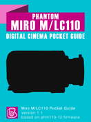 Phantom Miro M/LC110 Pocket Guide Cover