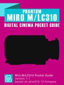 Phantom Miro M/LC310 Pocket Guide Cover