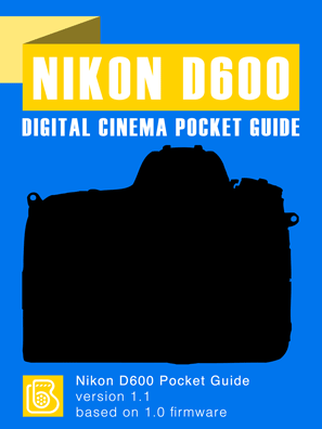Nikon D600 Pocket Guide Cover