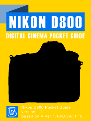 Nikon D800 Pocket Guide Cover
