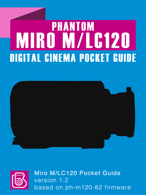 Phantom Miro M/LC120 Pocket Guide Cover