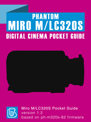 Phantom Miro M/LC320s Pocket Guide Cover