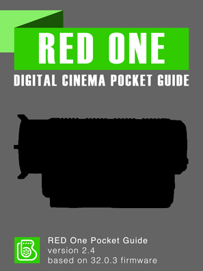 RED One Pocket Guide Cover