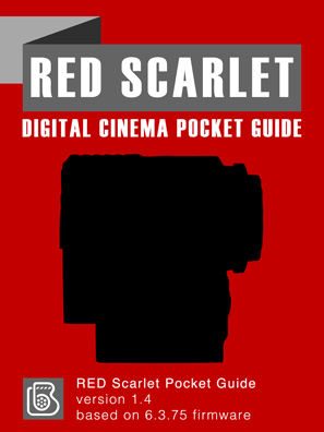 RED Scarlet Pocket Guide Cover
