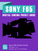 Sony F65 Pocket Guide Cover