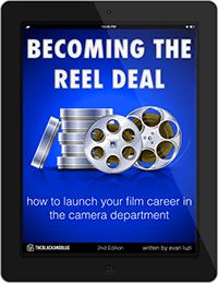 Becoming the Reel Deal eBook Cover on iPad